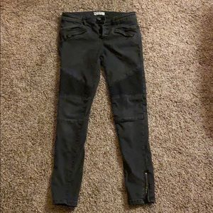 FREE PEOPLE HIGH WAISTED SKINNY JEANS💜